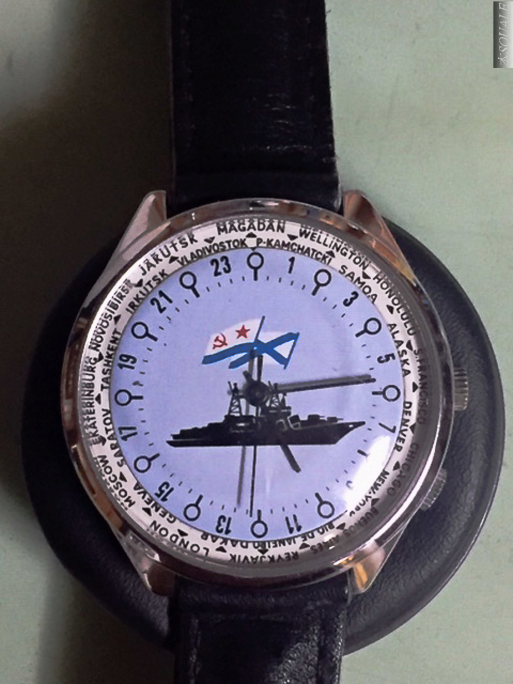 Authentification Raketa Worldtime Sans_t24
