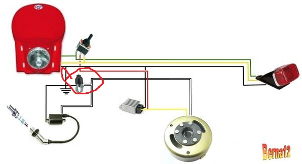 circuit simplifié 125 Circui10