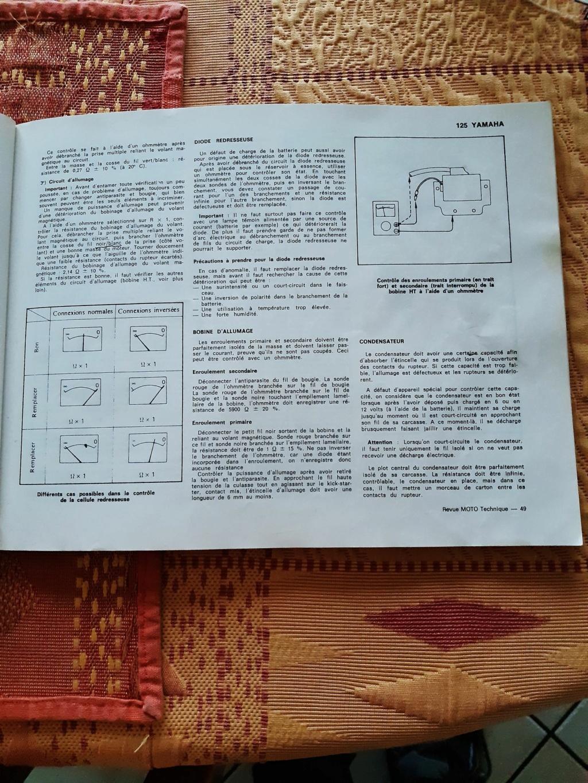 Ampoules 125 dtmx 6volts ,restauration  Page_410
