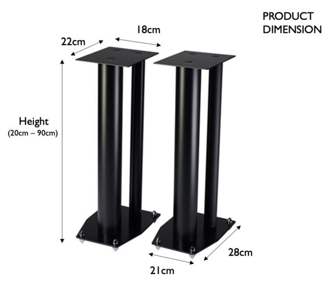 24 in metal speaker stand ( Sold ) Cav_me10