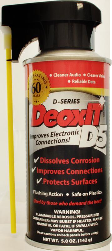 DeoxIT Spray D5 ( Sold ) Deoxit10