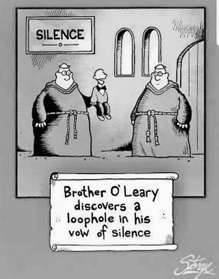 Vow of silence 13614410