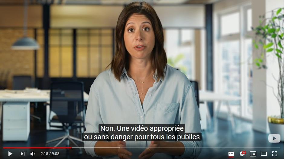 Nouvelle réglementation dur YouTube loi COPPA  - Page 4 110