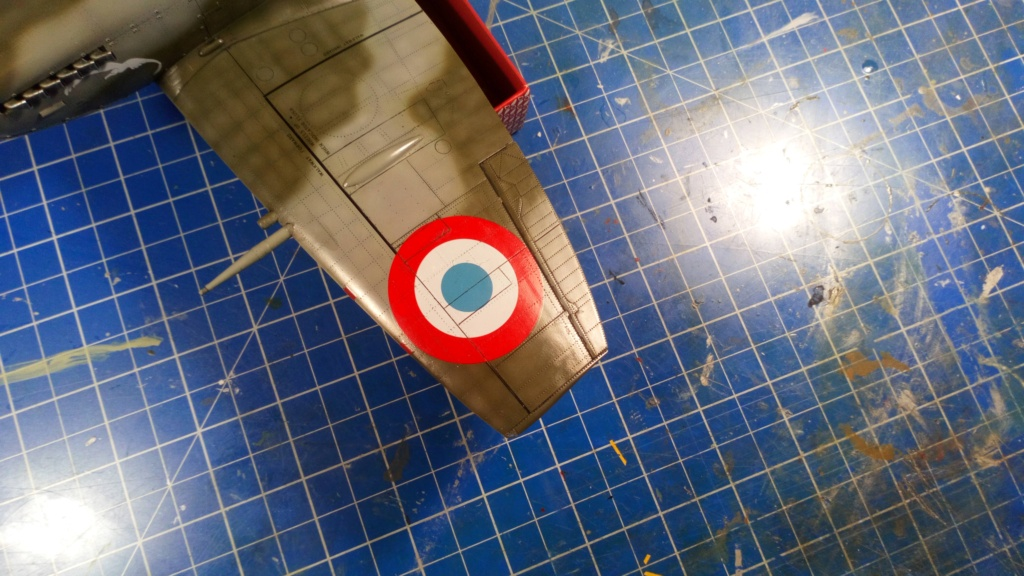 "Spitfire Mk IX e Revell 1/32 + décals Tamiya 1/4  ""Dauphine "" - Page 6 6313"