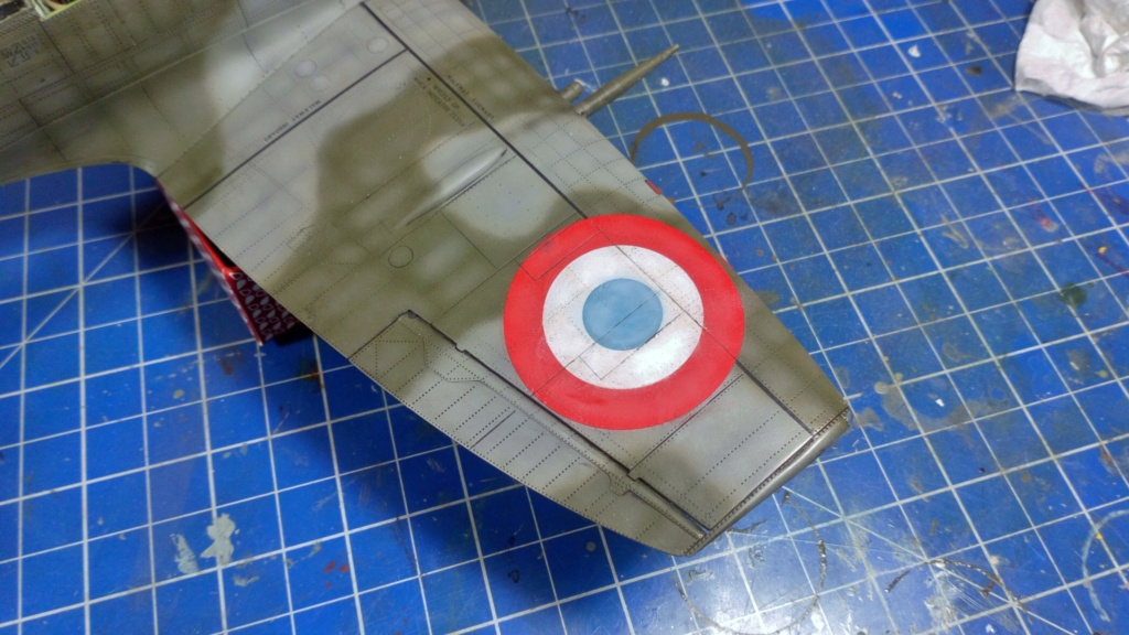 "Spitfire Mk IX e Revell 1/32 + décals Tamiya 1/4  ""Dauphine "" - Page 6 6613"