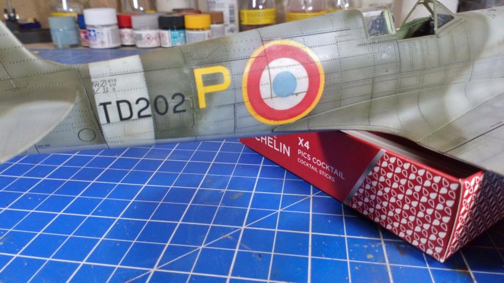 "Spitfire Mk IX e Revell 1/32 + décals Tamiya 1/4  ""Dauphine "" - Page 6 6712"