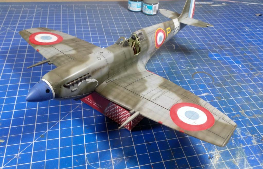 "Spitfire Mk IX e Revell 1/32 + décals Tamiya 1/4  ""Dauphine "" - Page 6 6913"