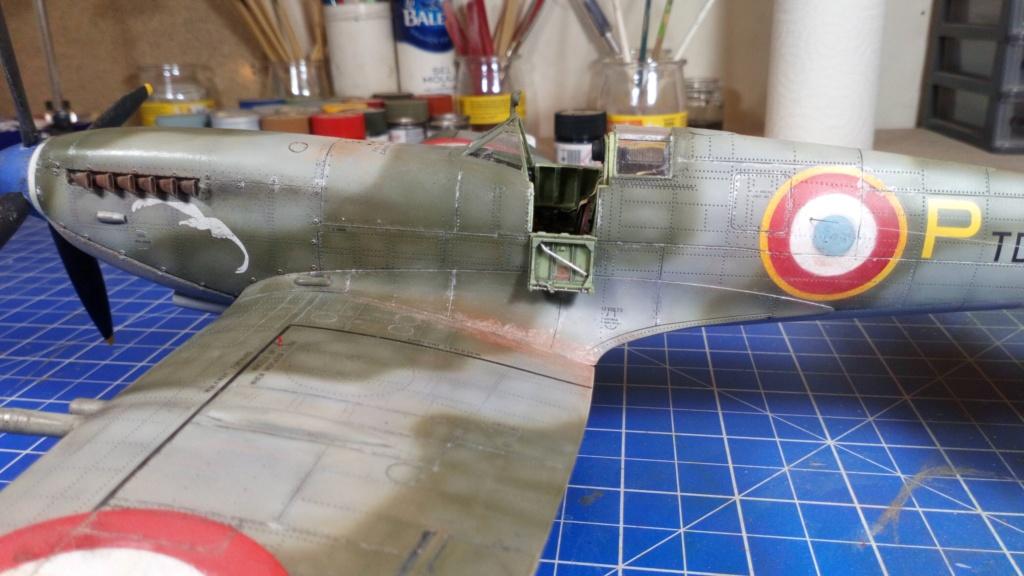 "Spitfire Mk IX e Revell 1/32 + décals Tamiya 1/4  ""Dauphine "" - Page 6 7311"