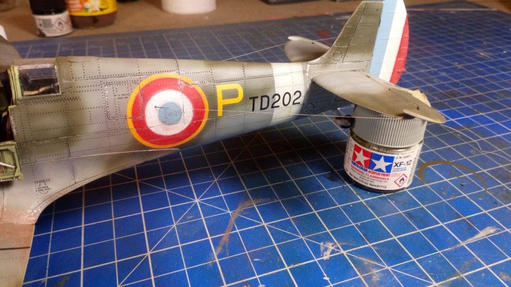 "Spitfire Mk IX e Revell 1/32 + décals Tamiya 1/4  ""Dauphine "" - Page 6 7411"
