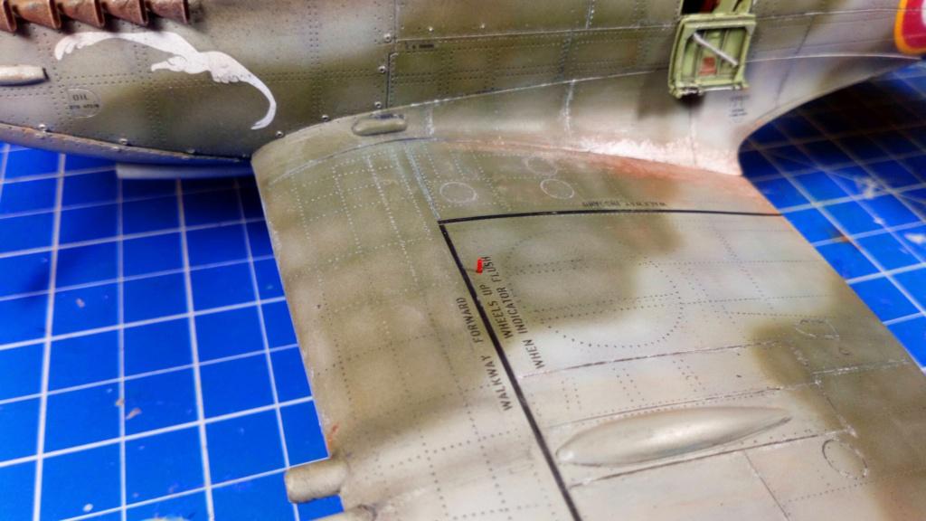 "Spitfire Mk IX e Revell 1/32 + décals Tamiya 1/4  ""Dauphine "" - Page 6 7511"