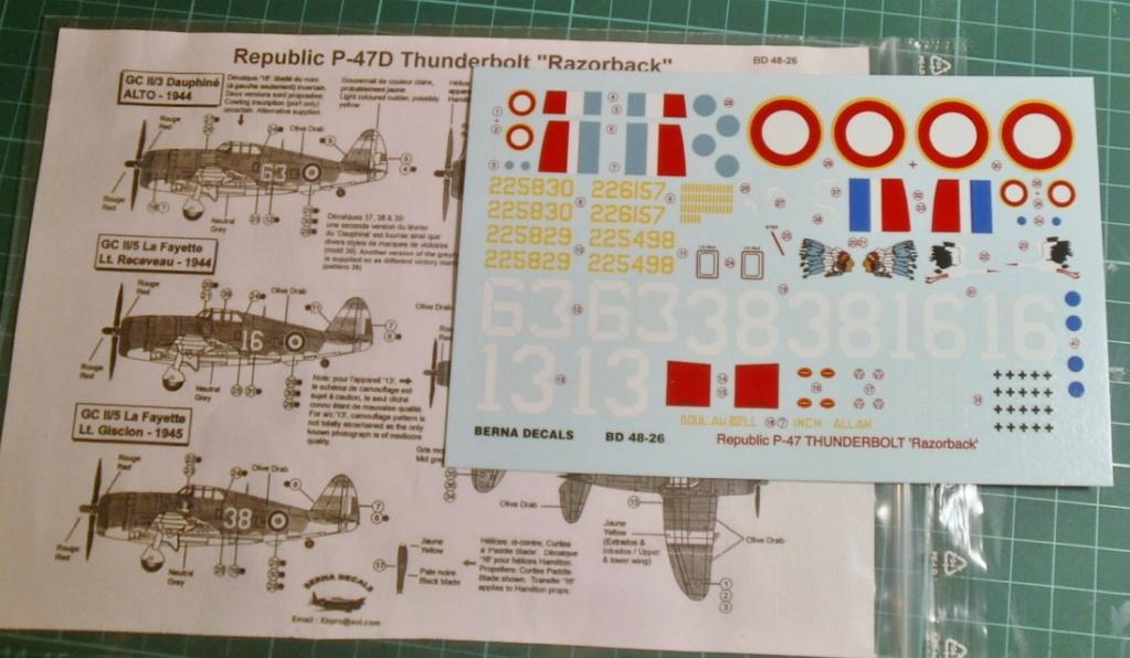 "P 47D ""Razorbak""  GC II/5 Lafayette P7200013"