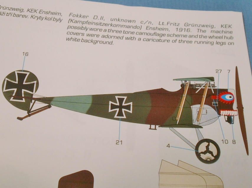 FOKKER D II Special Hobby 1/32 P9010022