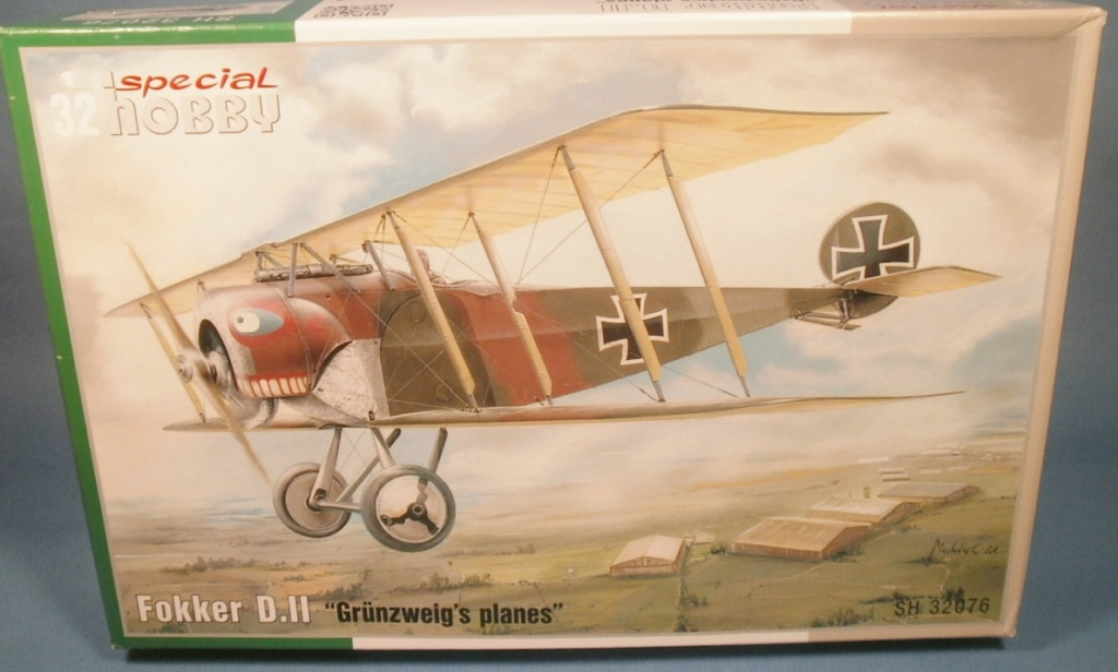 FOKKER D II Special Hobby 1/32 P9010023