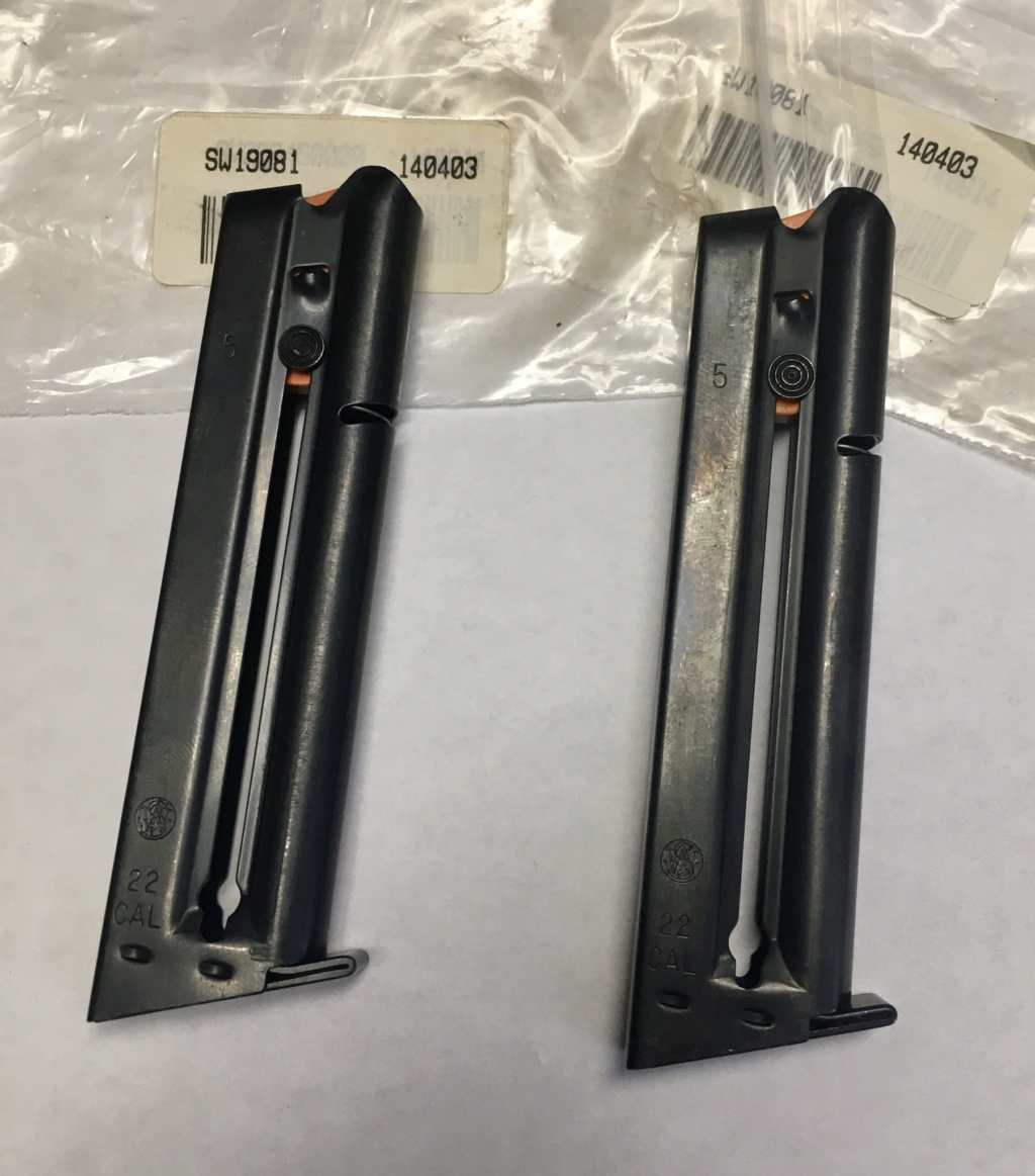 **SOLD**New S&W Model 41- 12 Round Magazines $75.00 each shipped D320f010