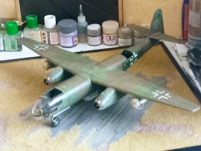 Arado 234 Chasse de nuit FLY au 1/32 - Page 10 Img_2444