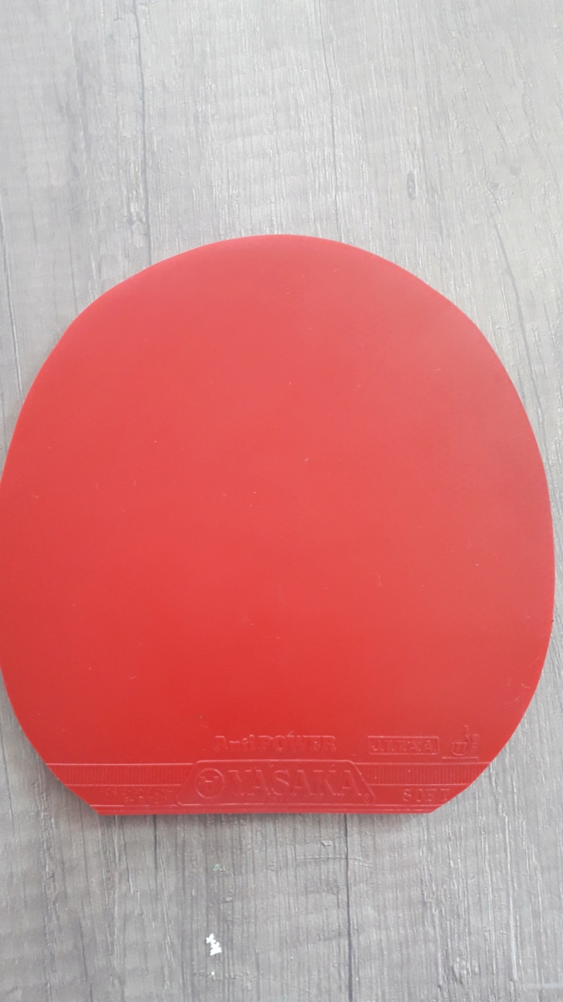 anti top yasaka antipower 2mm rouge Anti14