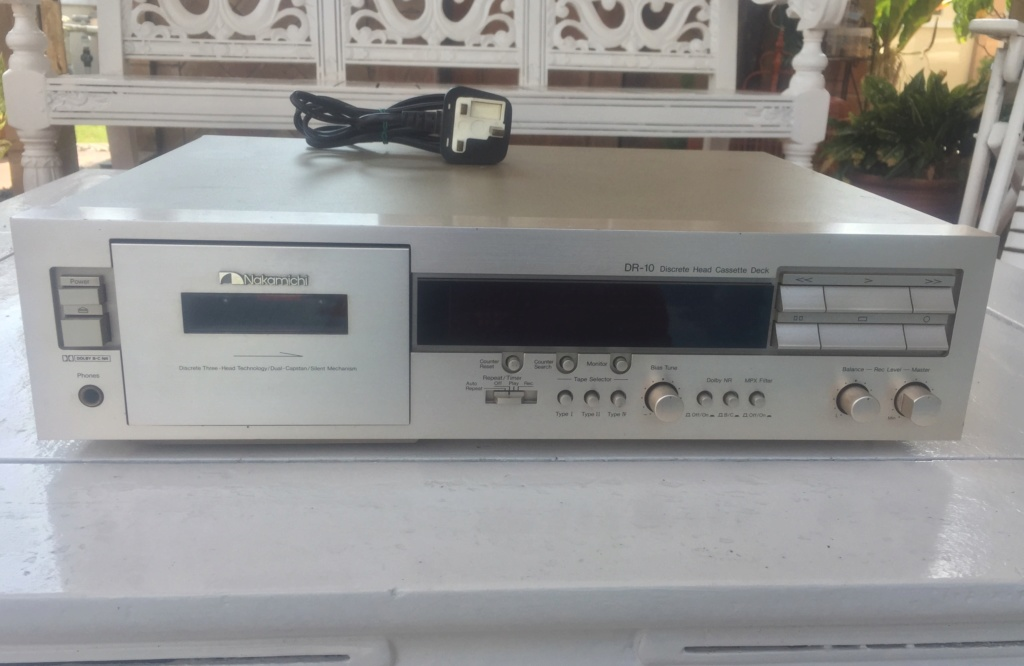 Nakamichi DR-10 Tape Deck E54e8810