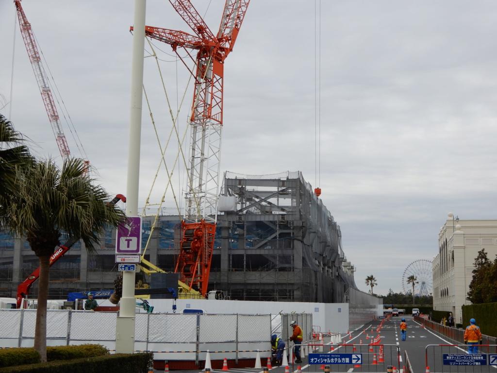 [Tokyo Disneyland] Rénovation de la Séquence d'Entrée Dscn3821