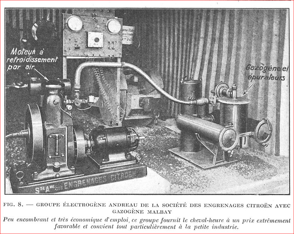 Tout premier gazo moteur fixe. Citron10