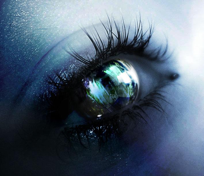 """""""Серые глаза - рассвет..."""" Р.Киплинг Pica4u10"""