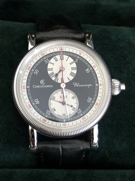 Vends - [Vends] chronoswiss chronoscope  14532d10