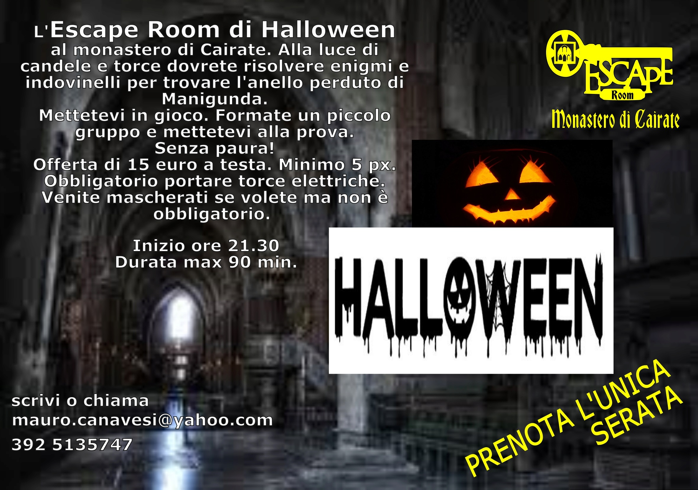 Halloween - ESCAPE ROOM Escape10