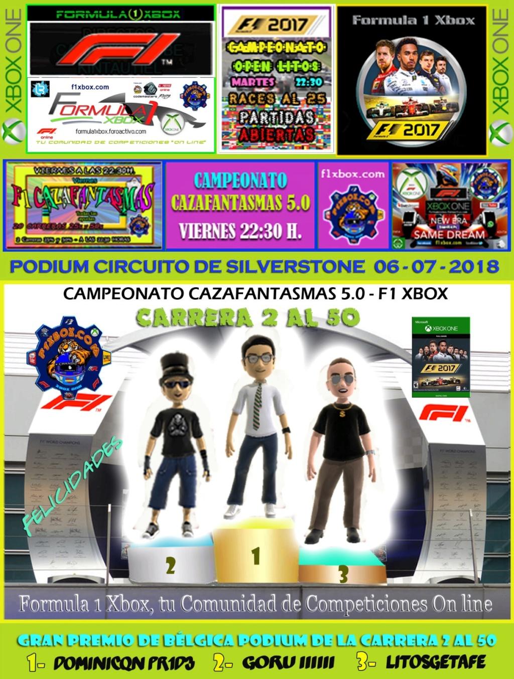 F1 2017 - XBOX ONE / CAMPEONATO CAZAFANTASMAS 5.0 - F1 XBOX / RESULTADOS Y PODIUMS DE LAS 2 CARRERAS EN GRAN BRETAÑA/ VIERNES 06 - 07 - 2018. 4469cb10