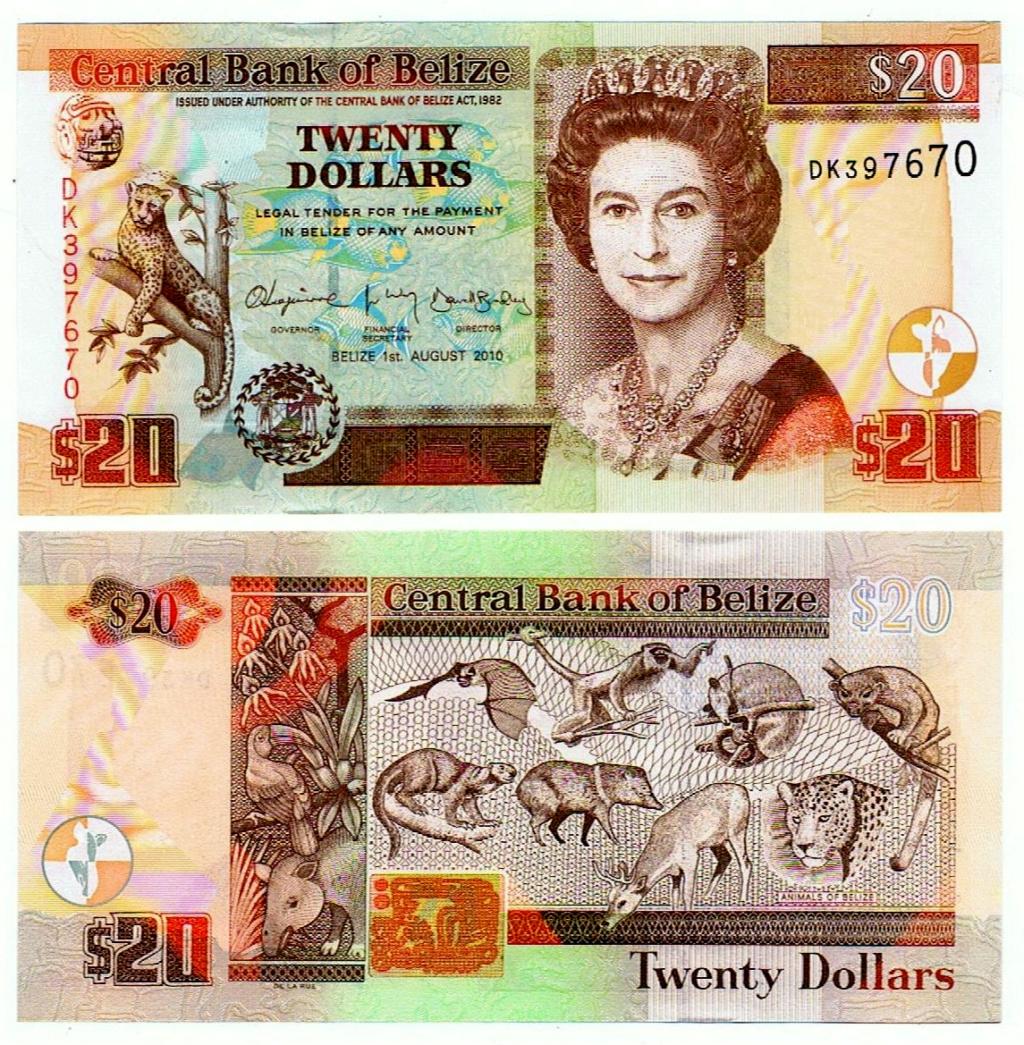 UNO - Juego con Billetes Belice10