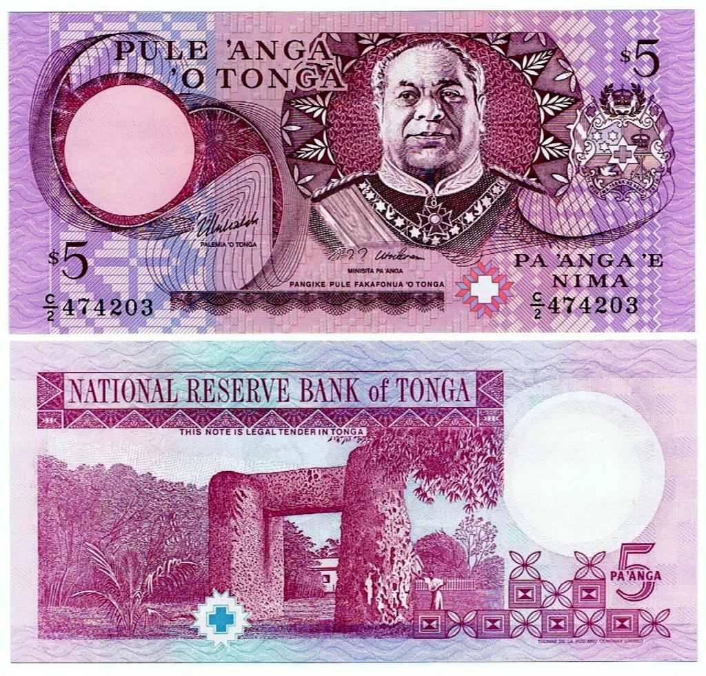 UNO - Juego con Billetes - Página 2 Tonga-10