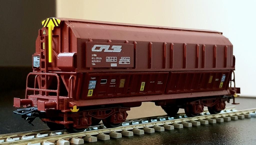 Wagon Tals des CFL 20200411