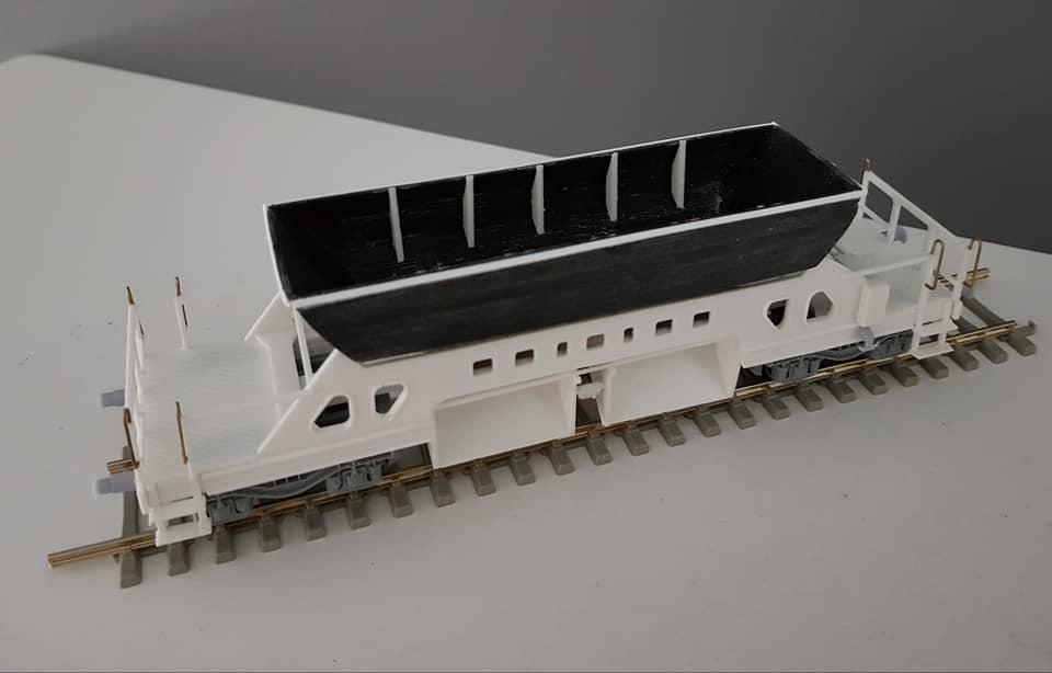 Wagon trémie ARBED Arbed610