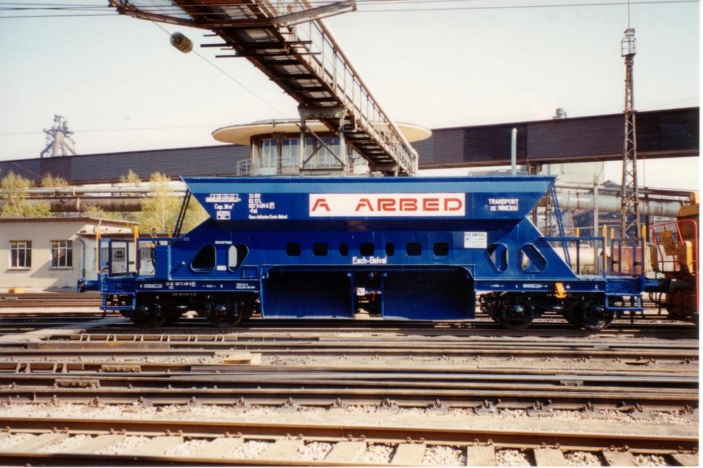 Wagon trémie ARBED Arbed810
