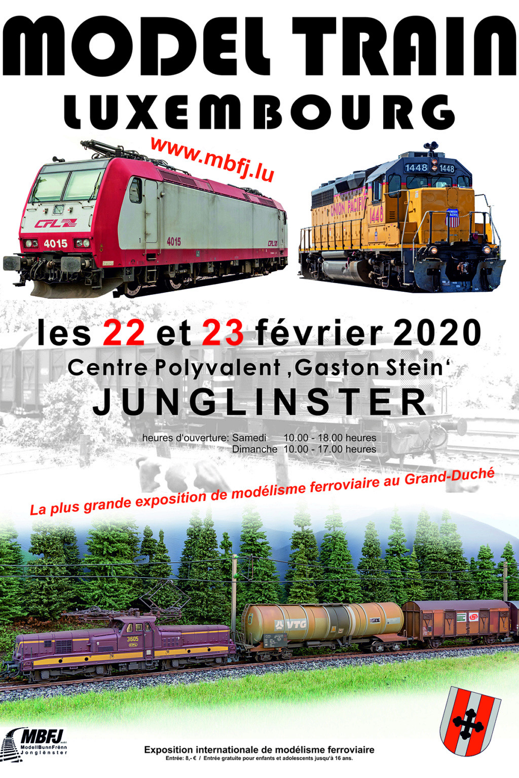 Expo Train Luxembourg 2020 Plakat10