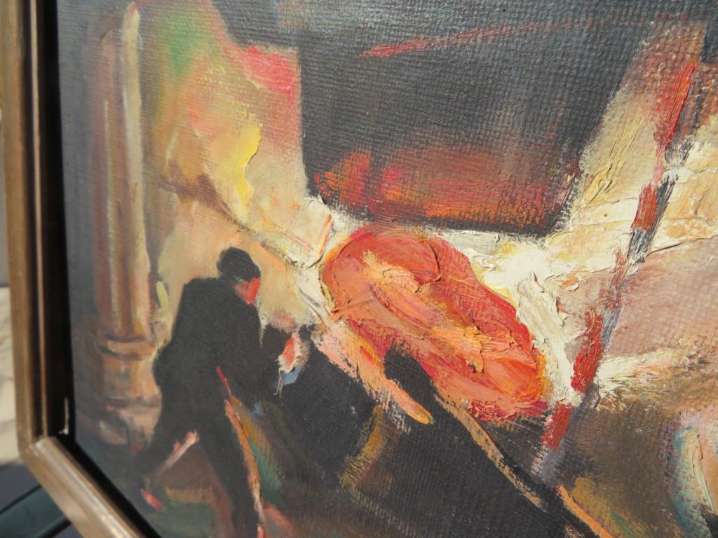 Louis LALLEMAND scène dans aciérie ? 1935 Img_2613