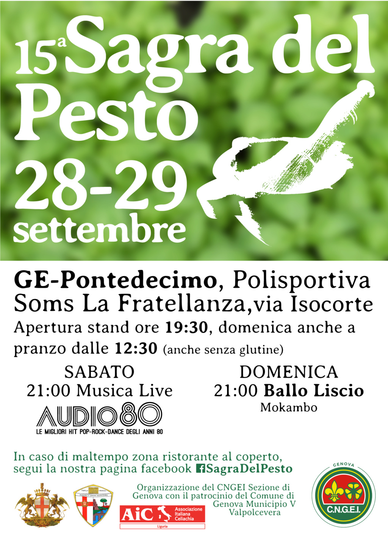 15a SAGRA DEL PESTO - PONTEDECIMO (GE) 28-29 SETTEMBRE 15sagr11