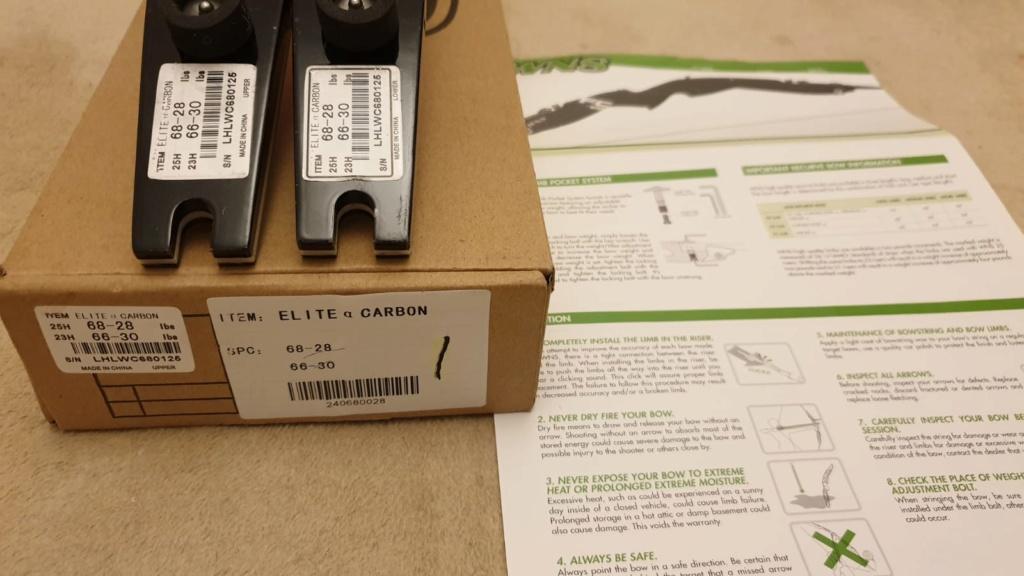 WNS Elite Carbon / High Foam Recurve Limbs Img-2010