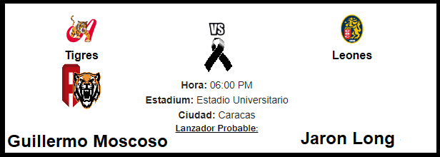 Tigres 3 - 5 Leones 10/12/18 Hoy10