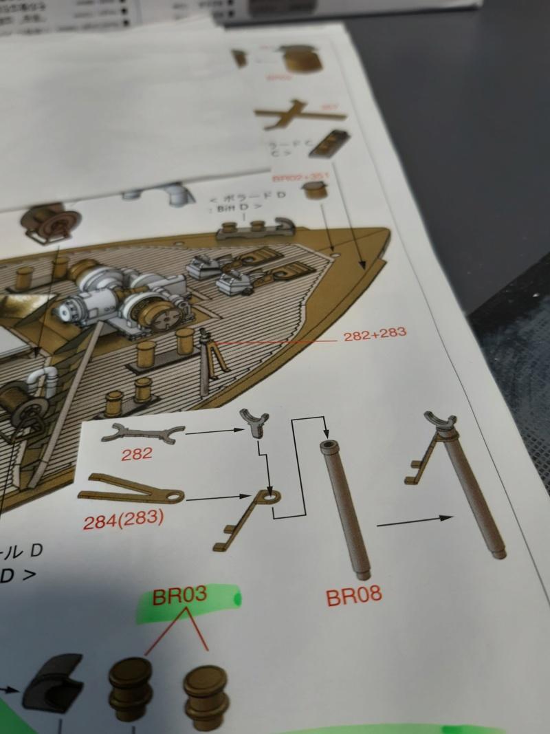Soya 1/250 Pontos  PE + Pont en bois  01116