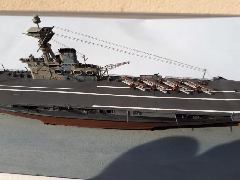 HMS HERMES 1/700 Flyhawk +Leds 01315