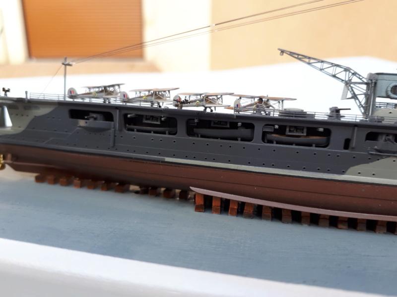 HMS HERMES 1/700 Flyhawk +Leds 02414