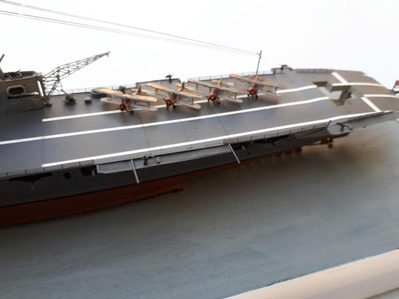 HMS HERMES 1/700 Flyhawk +Leds 03011