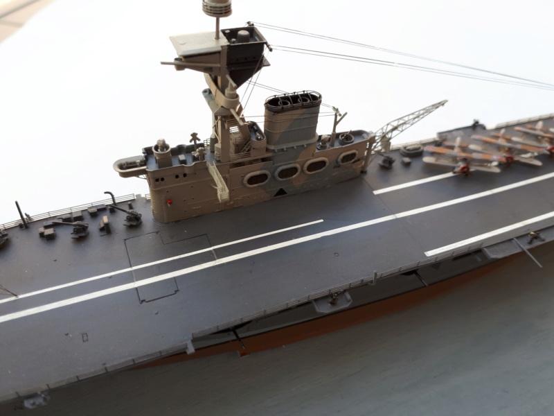 HMS HERMES 1/700 Flyhawk +Leds 03111
