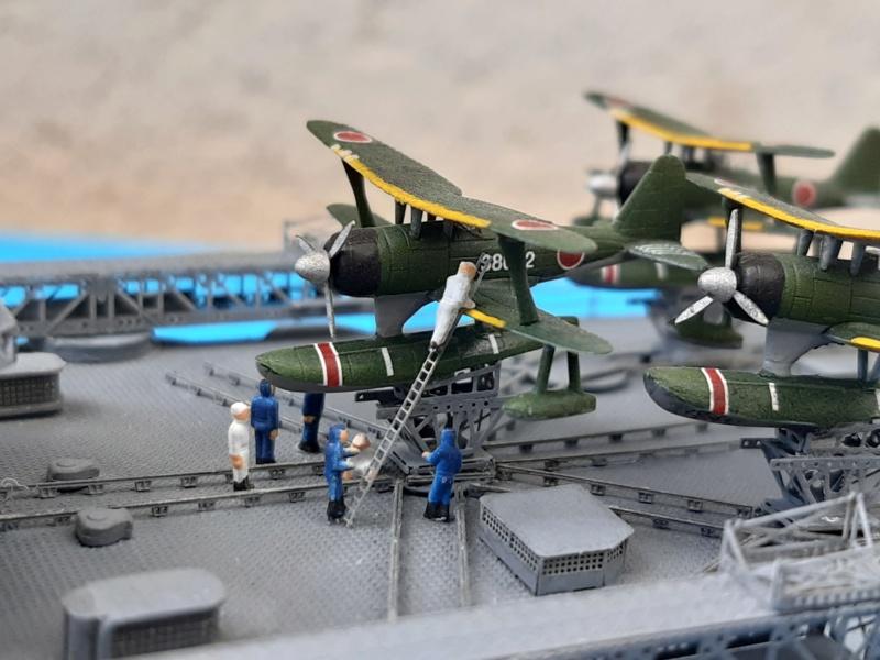 Mogami 1/350 Tamiya + kit Flyhawk et bricoles 03620