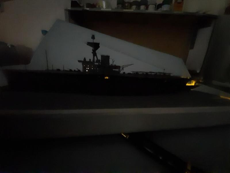 HMS HERMES 1/700 Flyhawk +Leds 13510