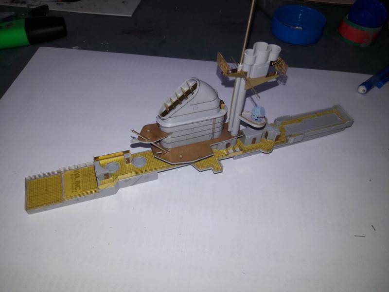 PA DKM Graf Zeppelin PE Pont en bois 1/350 - Page 3 20180713
