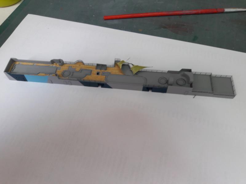 PA DKM Graf Zeppelin PE Pont en bois 1/350 - Page 3 20180717