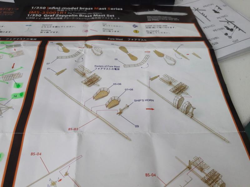 PA DKM Graf Zeppelin PE Pont en bois 1/350 - Page 3 20180719
