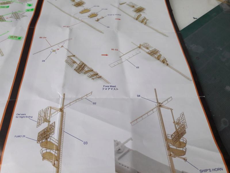 PA DKM Graf Zeppelin PE Pont en bois 1/350 - Page 3 20180722