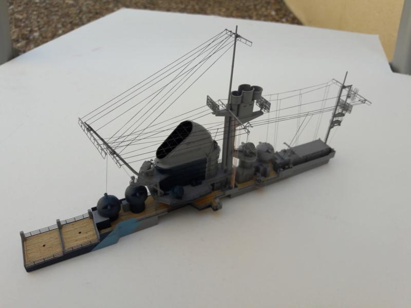 PA DKM Graf Zeppelin PE Pont en bois 1/350 - Page 3 20180729