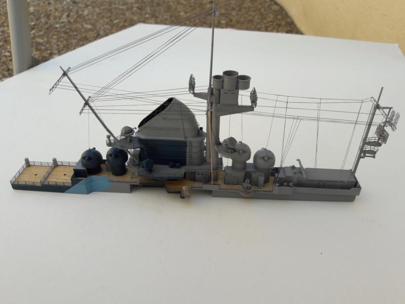 PA DKM Graf Zeppelin PE Pont en bois 1/350 - Page 3 20180730